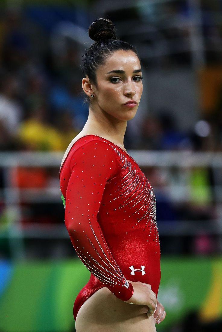 Aly Raisman | Aly Raisman At Rio Olympics - Celebzz - Celebzz
