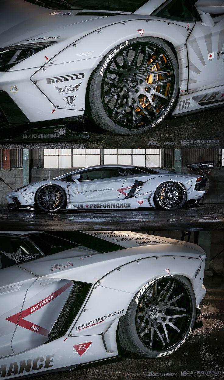 Lamborghini Aventador Liberty Walk by LB Performance