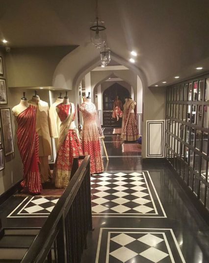 #AnitaDongre #Bridal #Heaven #Interiors #Luxury #Store #WeddingInspiration #Jaipur #Inspired