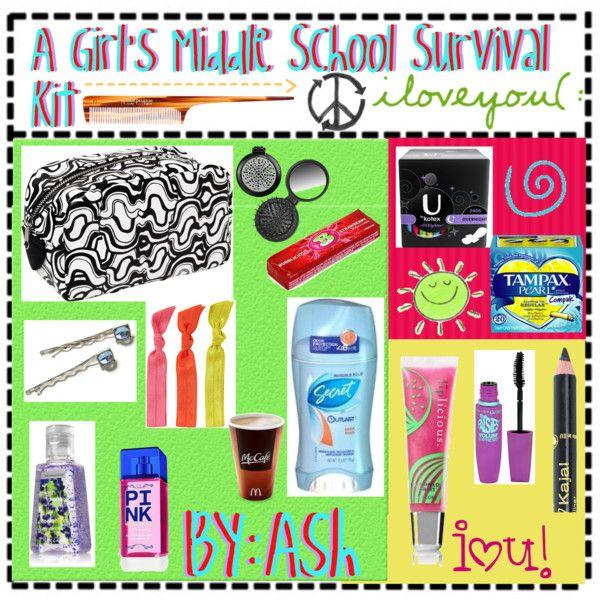 Diy Girl Emergency Kit For School Reviewwalls Co