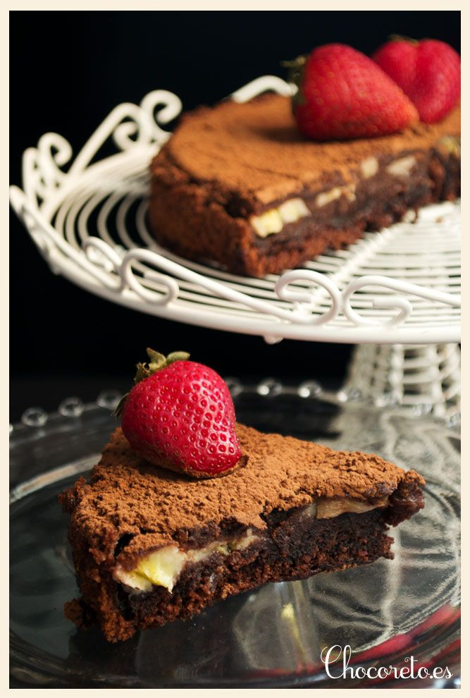 Vegan Chocolate and Banana Sponge Cake