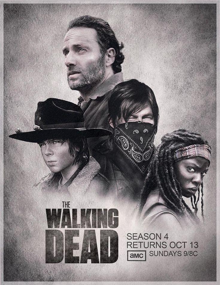 Season 4 Poster | The Walking Dead | Pinterest