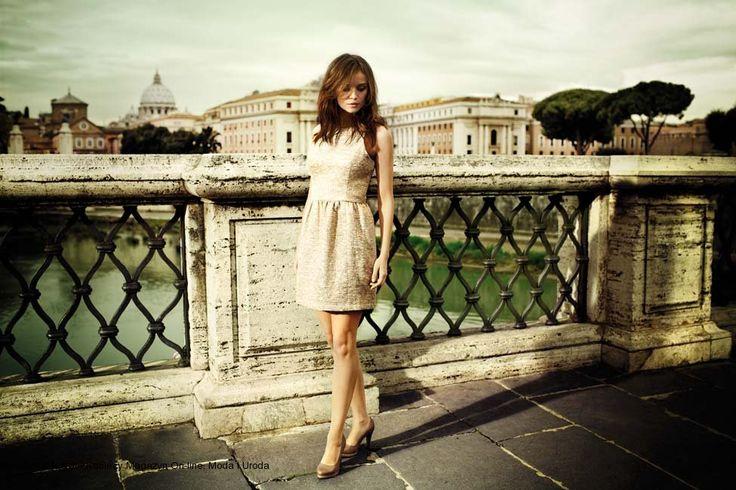 Cudowna Ania Przybylska dla wiosennej kampanii CCC #Ania # Przybylska #CCC #limango