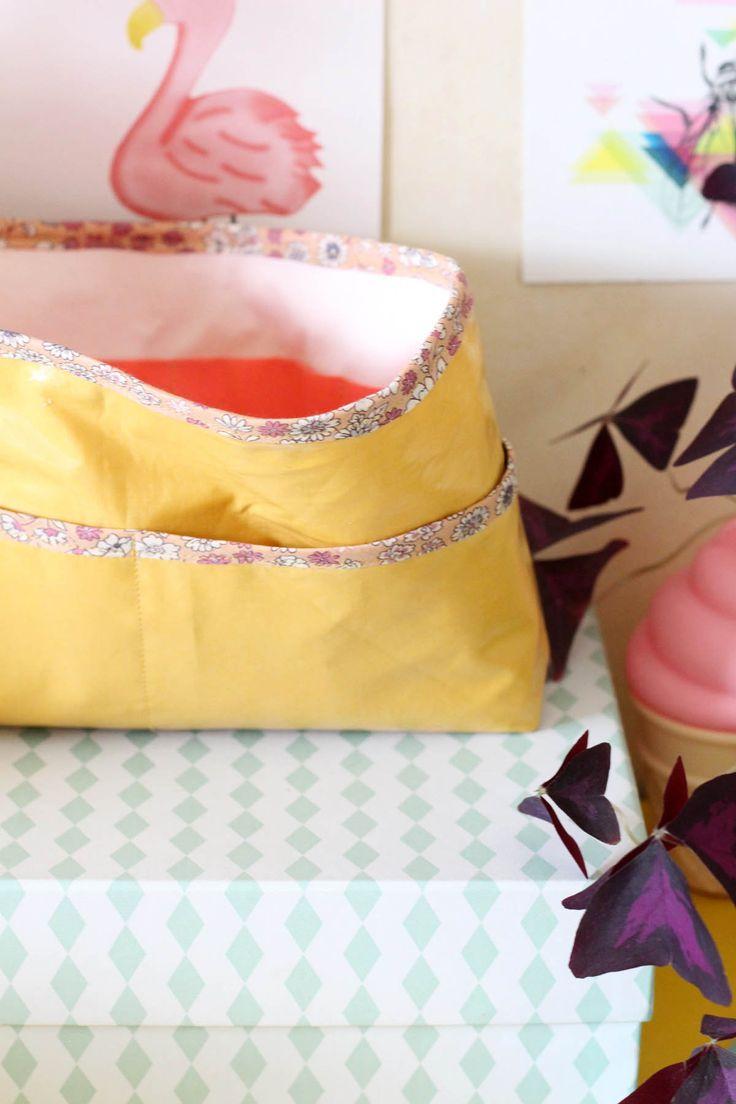 Les DIY Frou-Frou x Mymy Cracra : #7 l'organiseur de sac