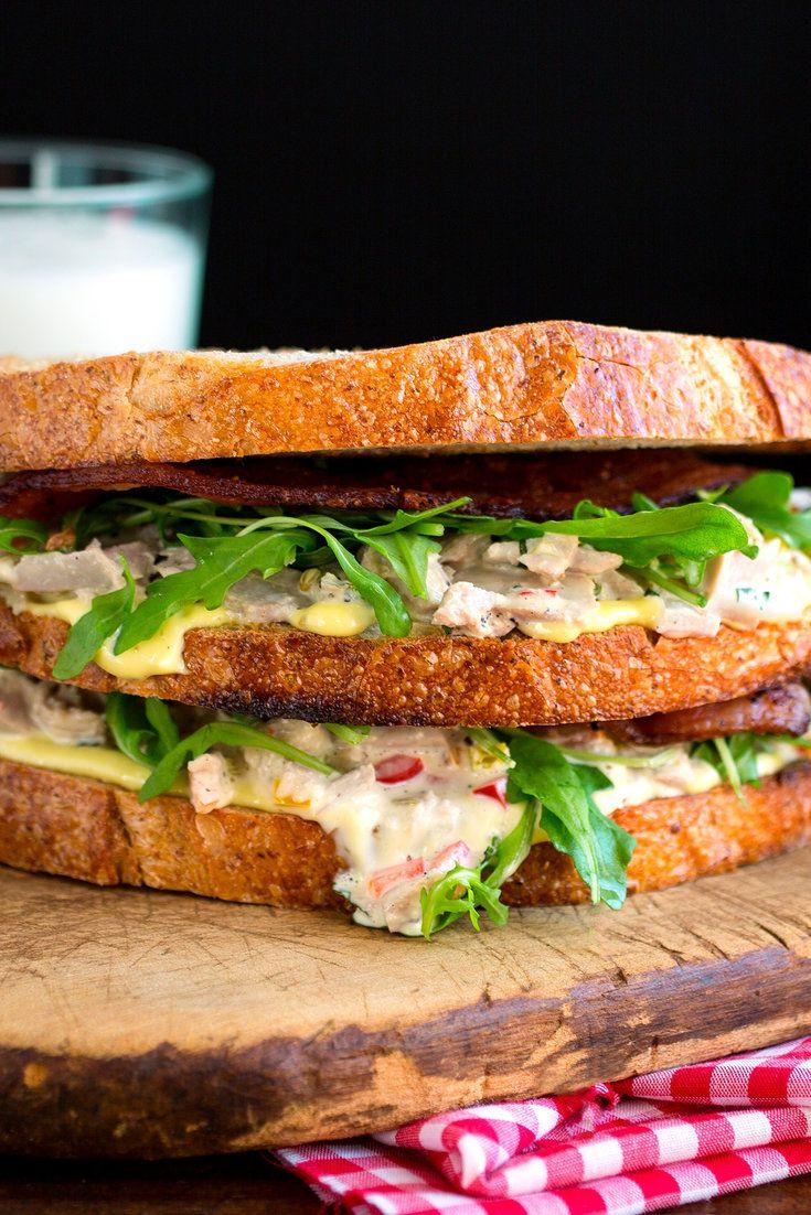 how to make tuna sandwich youtube