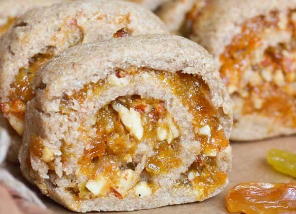 Печенье из ржаной муки без сахара