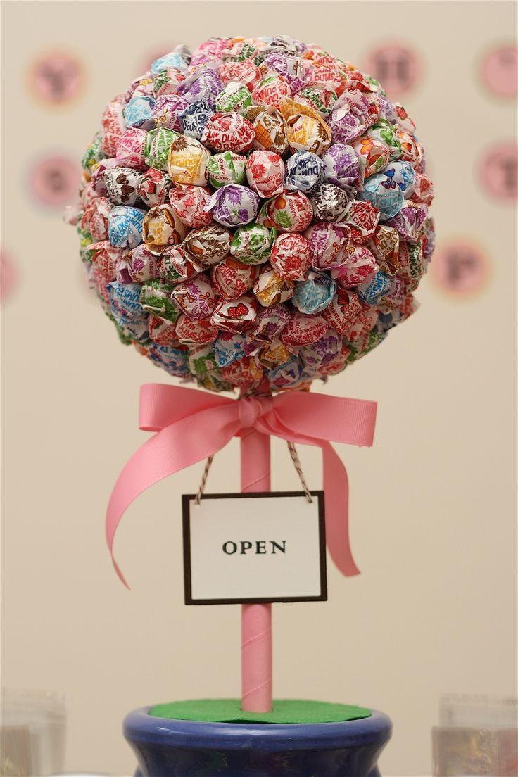 Dum-Dum lollipop topiary tree!! | Par-Tay | Pinterest ...