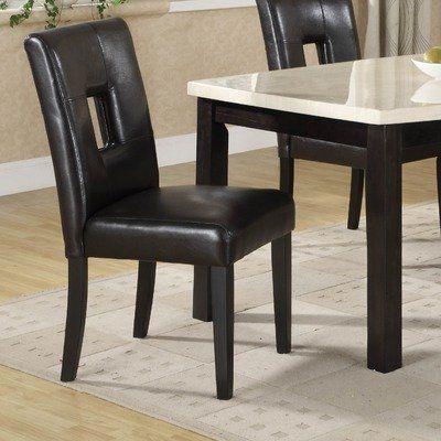 Archstone Side Chair  Set of 2  Color  Black by Woodbridge Home Designs. 86 best Furniture   Dining Room Furniture images on Pinterest