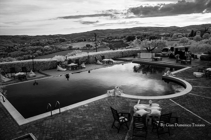 Our pool as seen by Gian Domenico Troiano, photographer in Perugia.