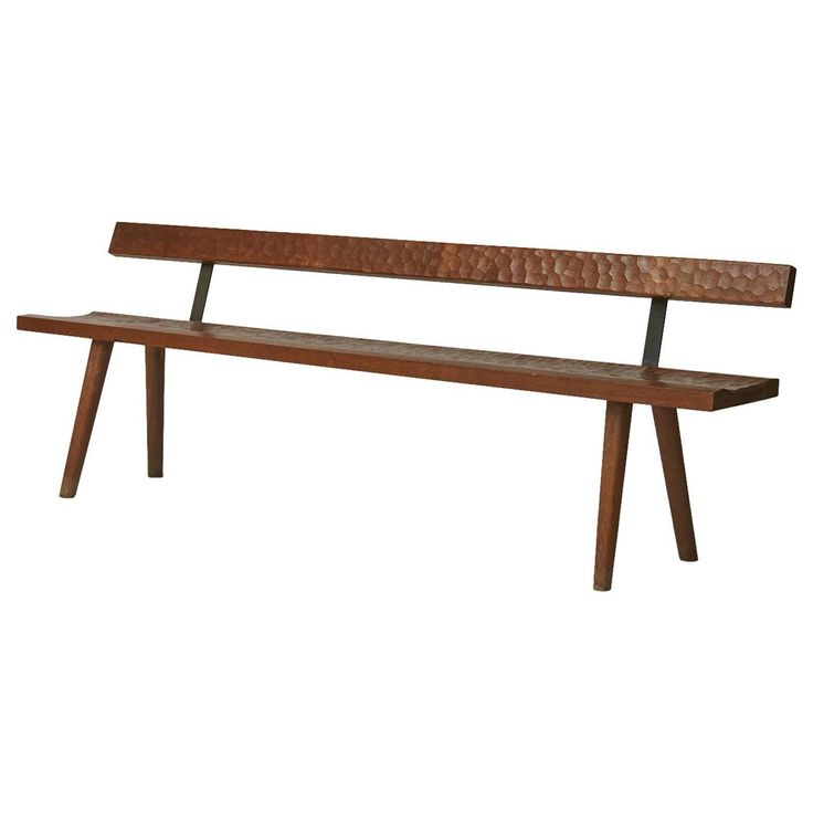 Dennis Santella Dug Up Three Great Looking Staked Furniture Pieces U2013 Two  Benches And Two Chairs U2013 From The Middle Of The Century That Are All  Connected To ...