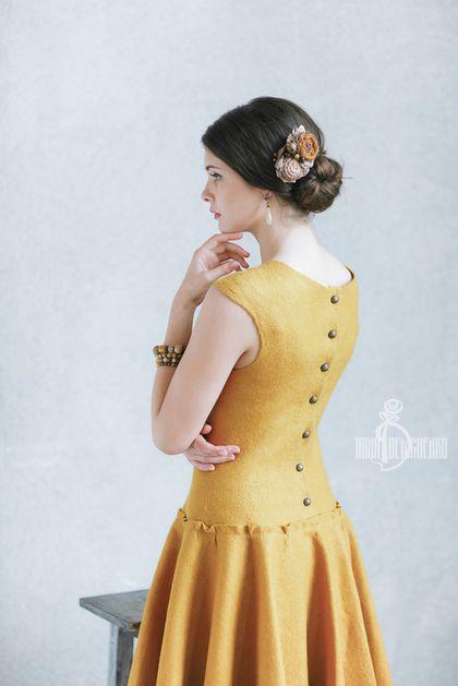 Felted dress / Платья ручной работы. Ярмарка Мастеров - ручная работа. Купить Валяное платье «Cute». Handmade. Street style, город, девушка
