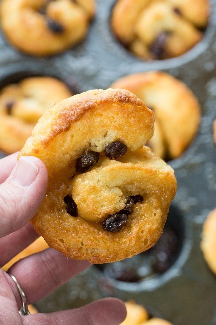 "Easy Cinnamon Buns Recipe, no yeast and super fast! I call them my   ""cheater"" cinnamon buns!"