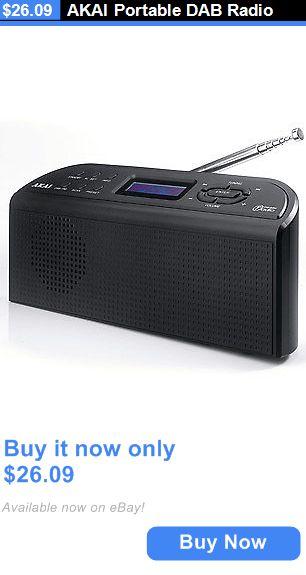 Portable Audio and Headphones: Akai Portable Dab Radio BUY IT NOW ONLY: $26.09