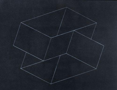 StructuralConstellationIII - Josef Albers, c. 1950