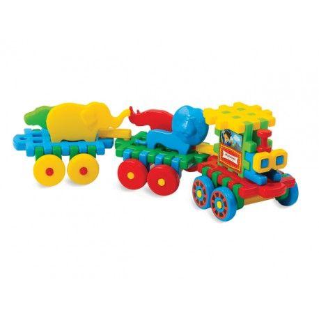Mali konstruktorzy, coś dla was:)  Klocki Wafle Pociąg Mario z Figurkami Zwierząt. Zestaw klocków konstrukcyjnych dla dzieci od lat 3.   W zestawie w sumie znajduje się 41 elementów. Świetna cena!  Sprawdźcie sami:)  http://www.niczchin.pl/klocki-waflowe/2905-klocki-wafle-pociag-mario.html  #marioinex #klocki #konstrukcyjne #pociag #mario #zabawki #niczchin #krakow
