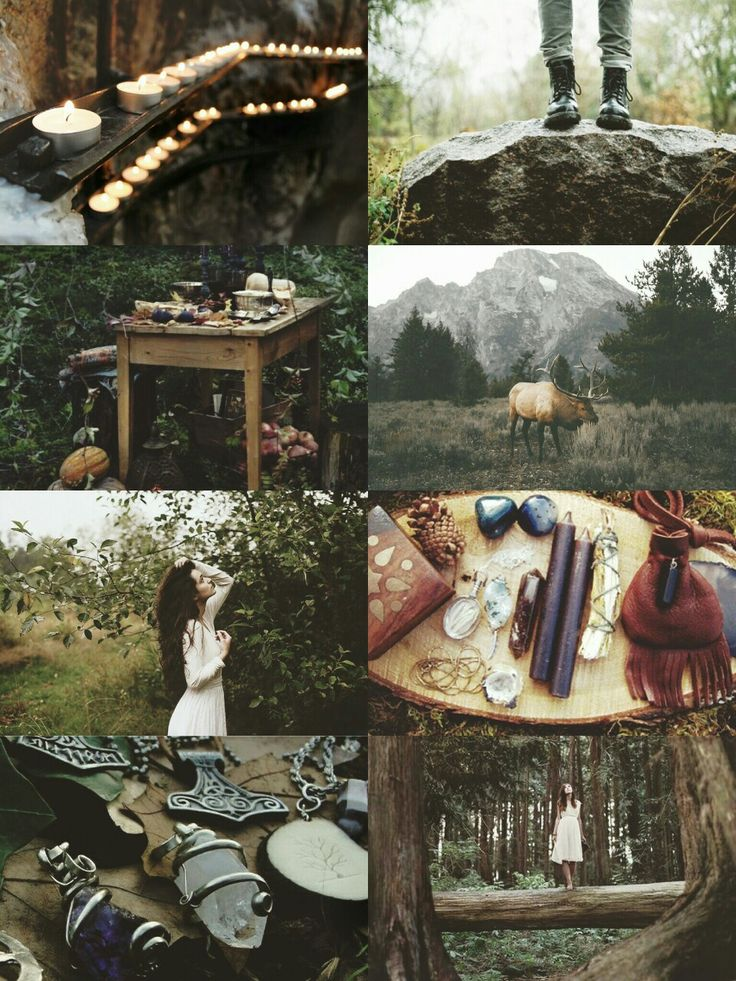 "kinstethic: "" Forest Witch aesthetic """