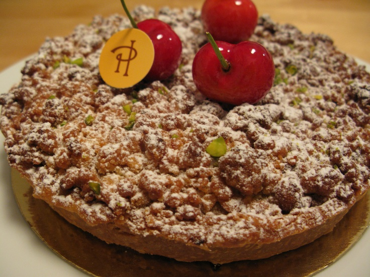 cherry and pistachio crumble tart from Pierre Herme.jpg