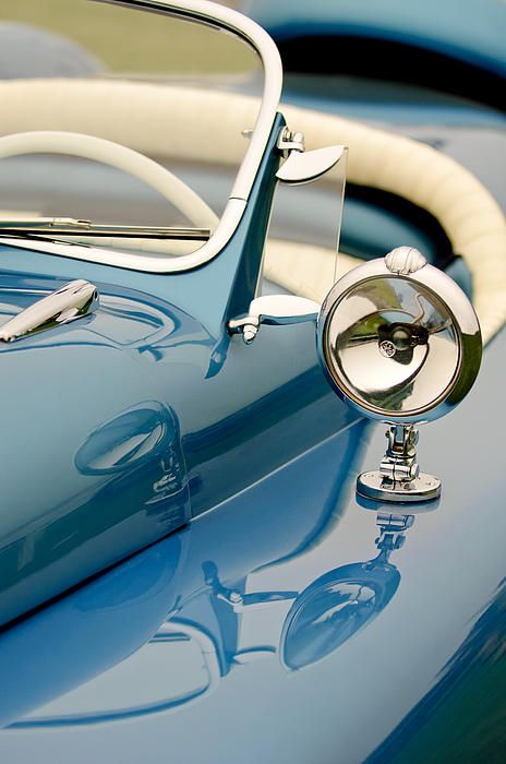 1948 Lloyd Templeton Mercury Saturn Bob Hope Roadster by Jill Reger