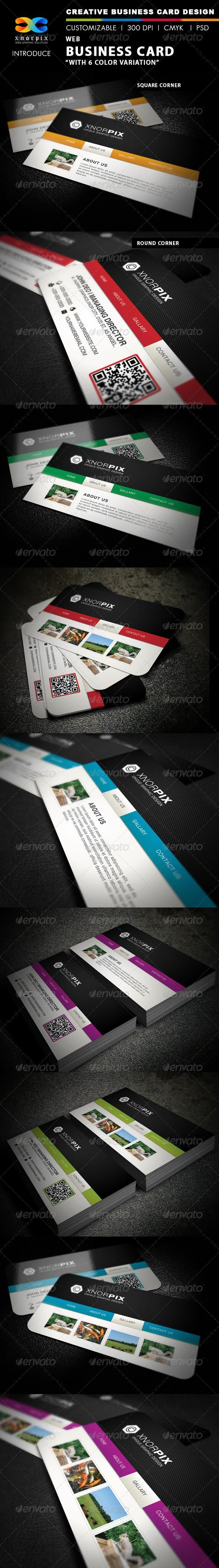 1661 best Business card design images on Pinterest