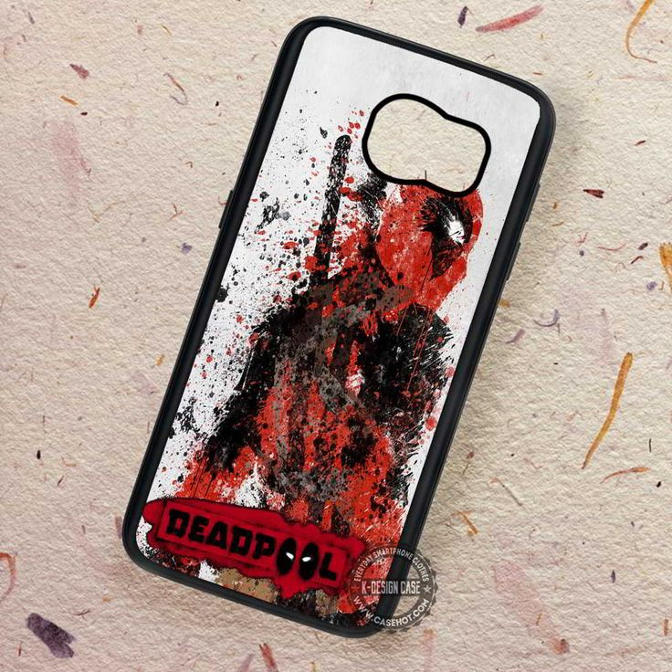 Art of Deadpool Enemy Painting - Samsung Galaxy S7 S6 S5 Note 7 Cases & Covers