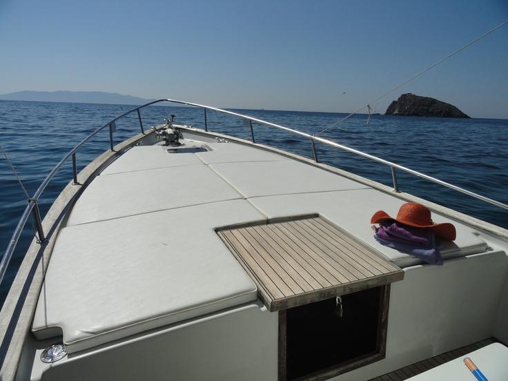 Argentario by boat