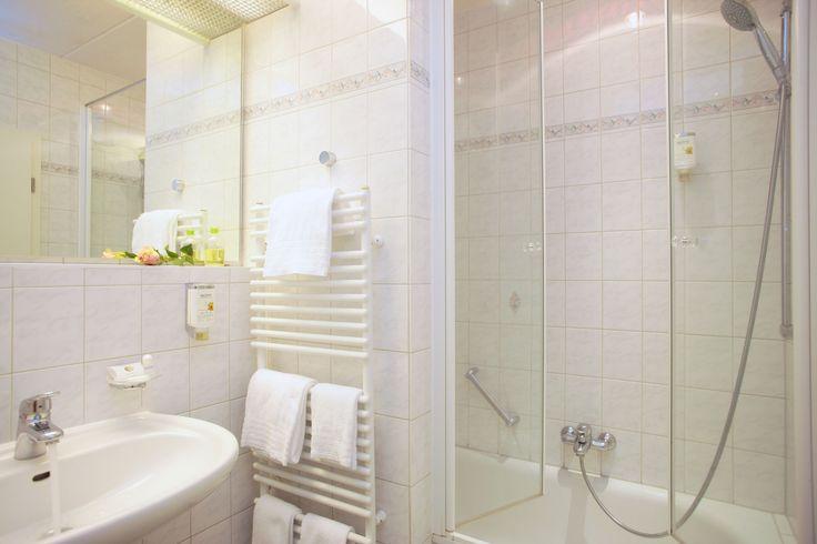 Badezimmer im AKZENT Hotel Zur Grünen Eiche in Bispingen-Behringen
