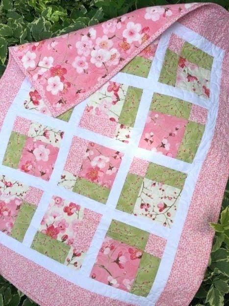 Prentresultaat Vir Elegant Baby Quilts To Sew Pink