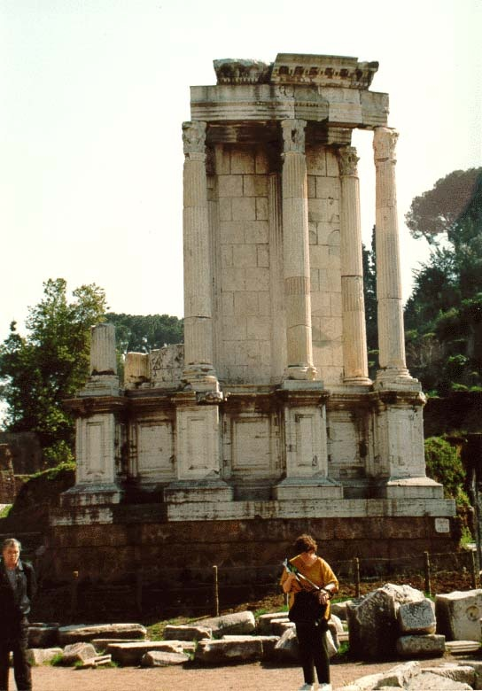 a look at the greek and roman temples for the gods The ancients loved color finding out about this is pretty great but i'm so used to  white marbled statues it just doesn't seem right to see them.
