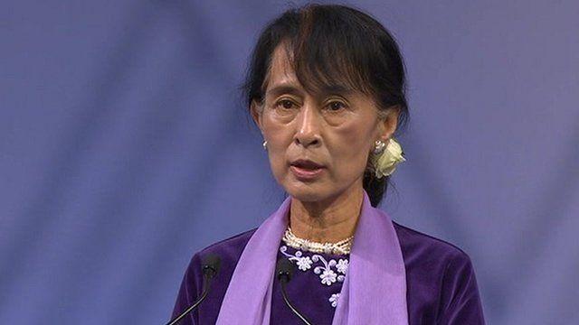 BBC News - Suu Kyi says Nobel award meant Burma was not forgotten