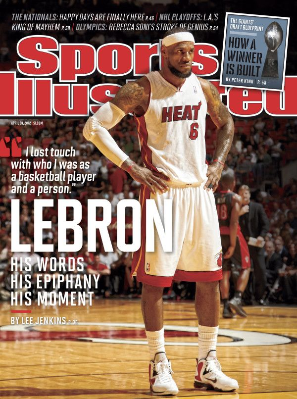LeBronJames Of Arci, Illustration Magazines, April 30, Heat Sports, Magazines April, Sports Illustration, Sports Illustrated, Lebron James, King James