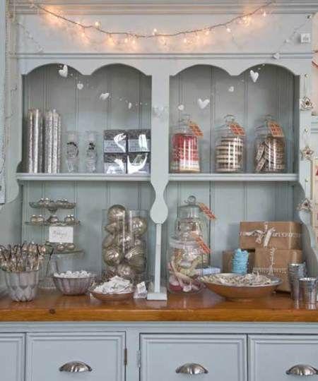 Grey Kitchen Shabby Chic Dresser