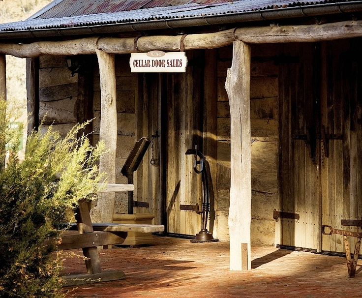 The original stables that Henry Best built that was relocated in 1970 to become Best's Cellar Door.