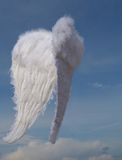 christmas angel wings Royalty Free Stock Images