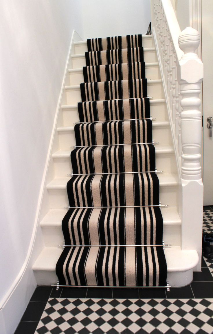Google Image Result for http://www.theflooringgroup.co.uk/wp-content/uploads/Black-And-White-Striped-Stair-Carpet-3.jpg.    Lol this so much