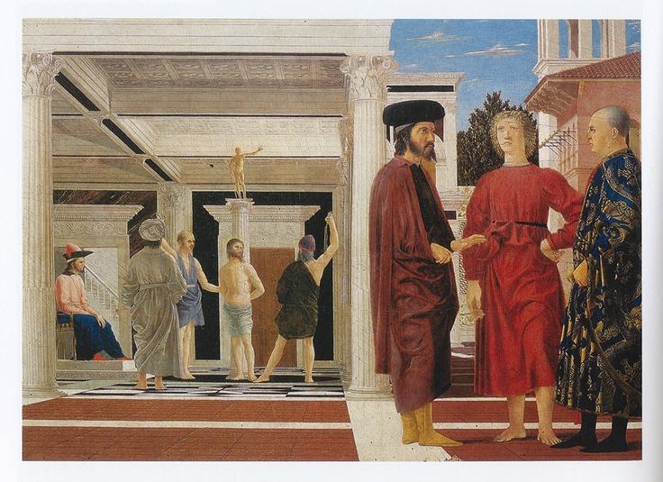 "Piero della Francesca's ""Flagellation""  Sublime..."