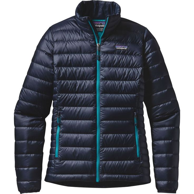 Patagonia - Down Sweater Jacket - Women's - Navy Blue/Epic Blue