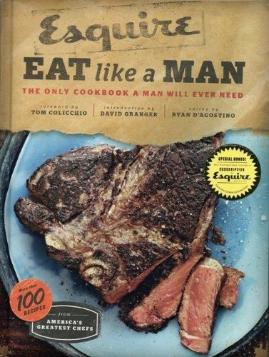Eat Like A Man. The only cookbook a man will ever need.