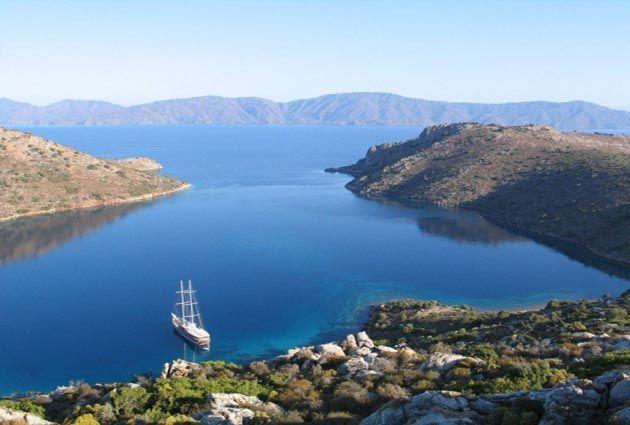 3.Day, Nisyros, Simy, private yacht rental in Greek Islands, www.barbarosyachting.com