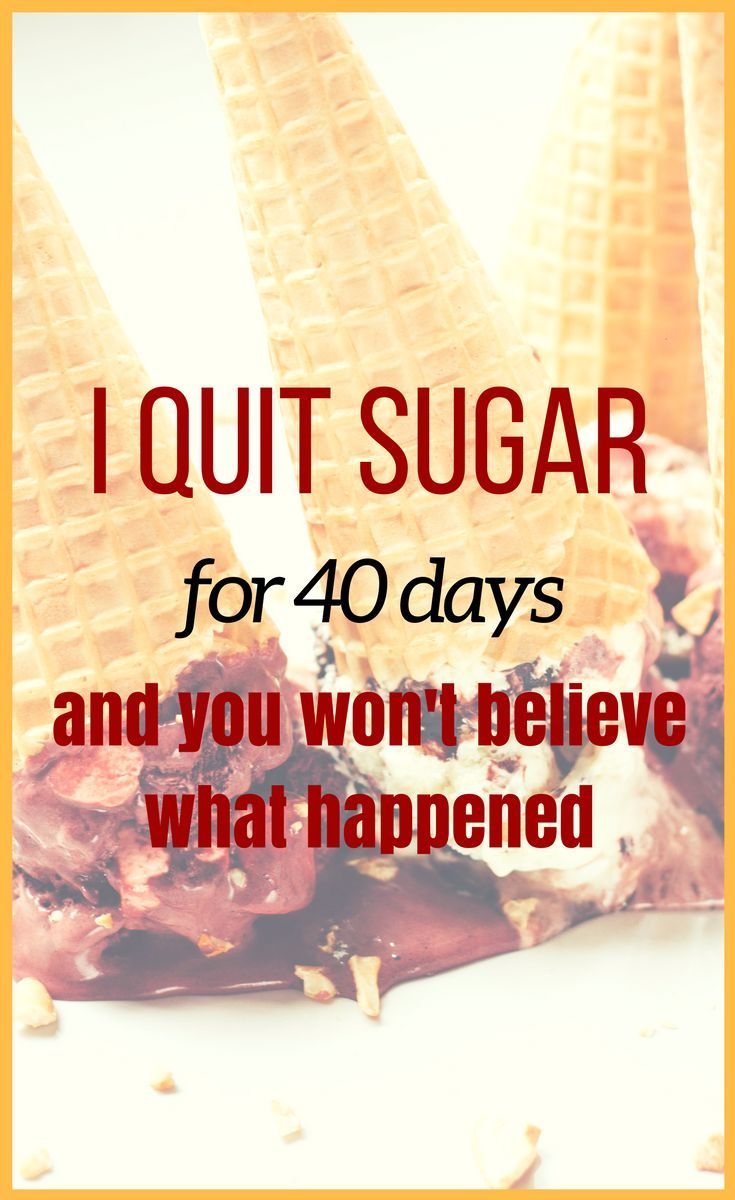 Giving Up Sugar: What Happened When I Tried for 30 Days advise