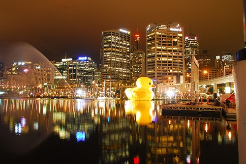Rubber ducky, Darling Harbour www.pinterest.com/wholoves/Sydney #sydney #australia