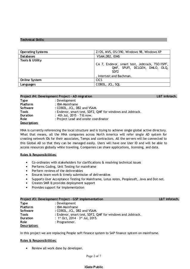 Resume Ibm System Z The Best Estimate Connoisseur Resume Examples Resume Tips Resume