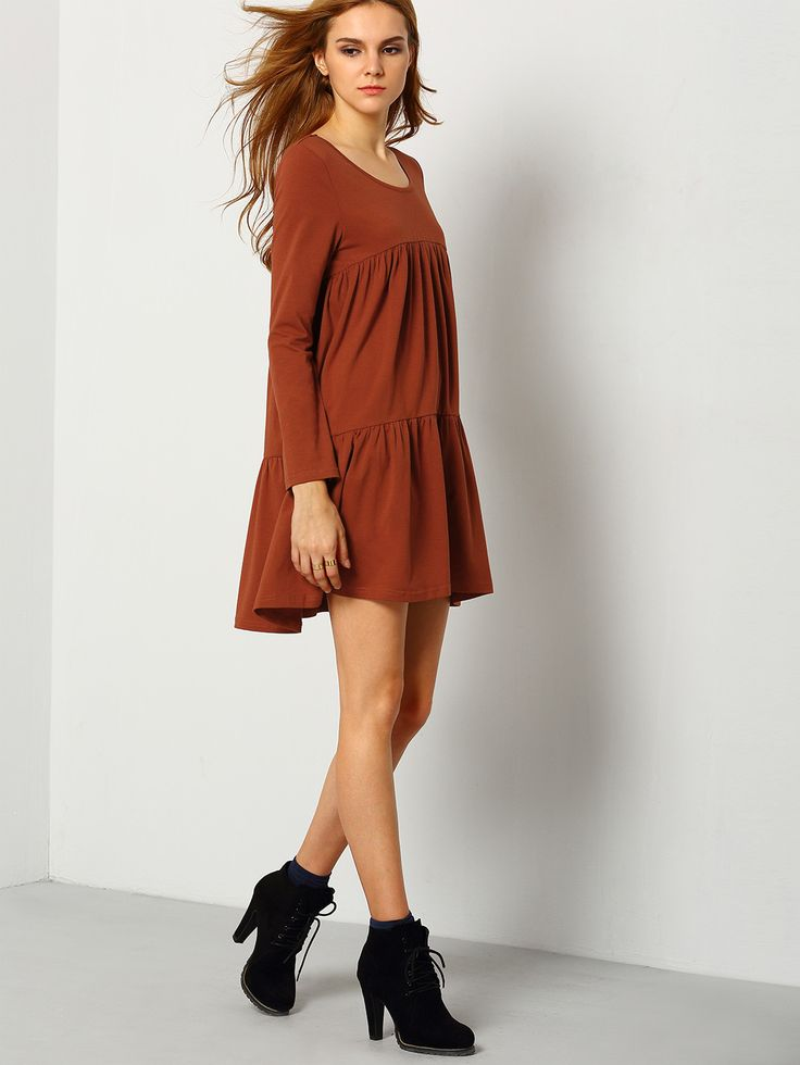 17 Best ideas about Long Sleeve Casual Dresses on Pinterest ...