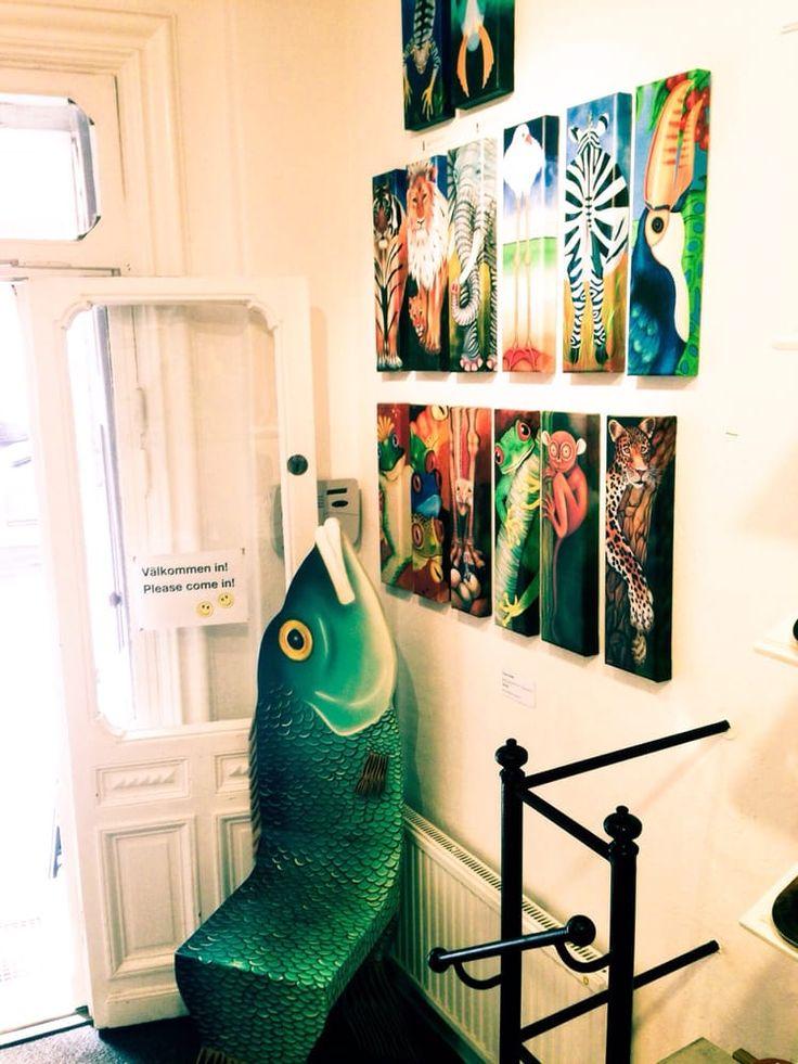 Photo of Charlotte Nicolin - Stockholm, Sweden. fiskstol med stil, juni 2014