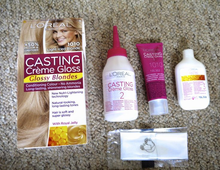 THE HAIR: L'OREAL CASTING CREME GLOSS 'GLOSSY BLONDES'