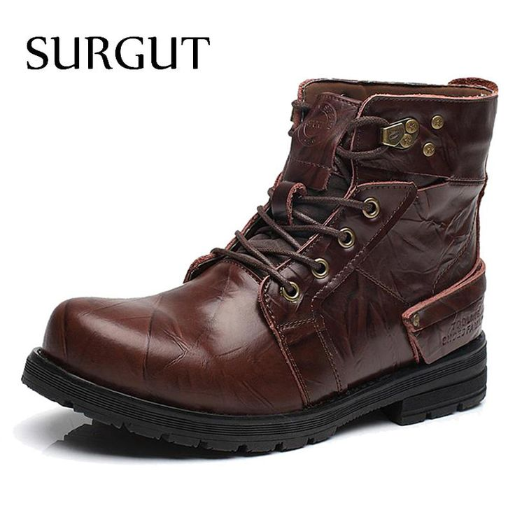 SURGUT Brand Waterproof Winter Warm Snow Boots Men Cow Split Leather Motorcycle Ankle Fashion High Cut Male Casual Clearance   Tag a friend who would love this!   FREE Shipping Worldwide   Buy one here---> https://highnoonmarket.fun/surgut-brand-waterproof-winter-warm-snow-boots-men-cow-split-leather-motorcycle-ankle-fashion-high-cut-male-casual-clearance/