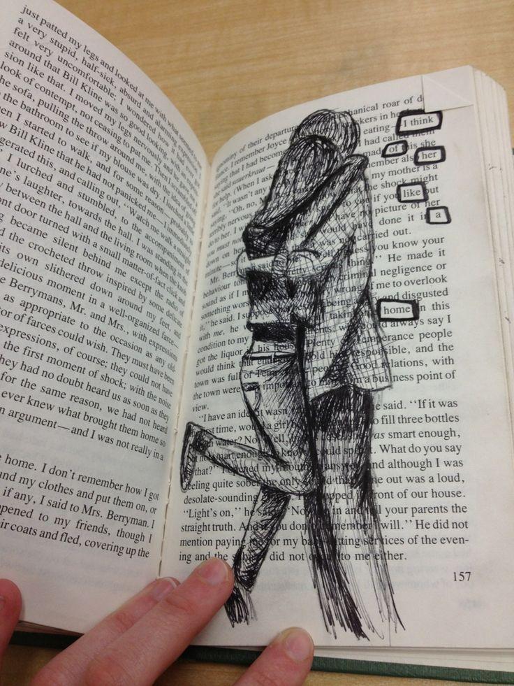 Ist es nicht grausam, was diesem Buch angetan wurde?
