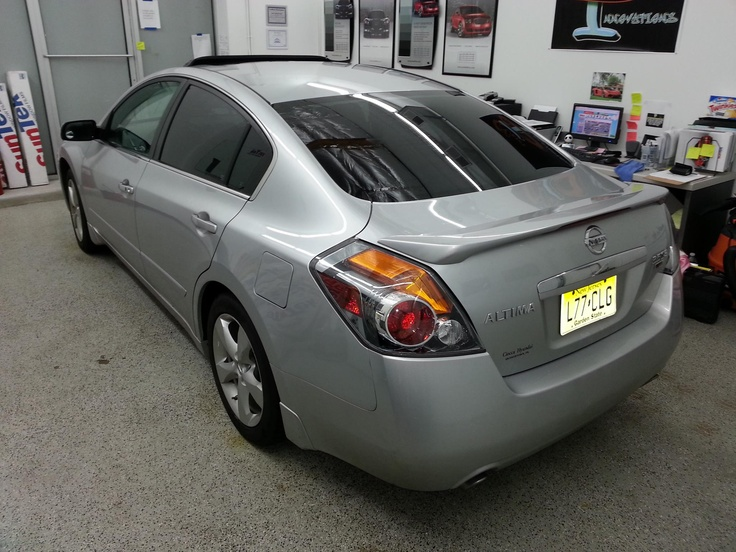 2007 Nissan Altima Suntek Carbon 18 Rear Section Window