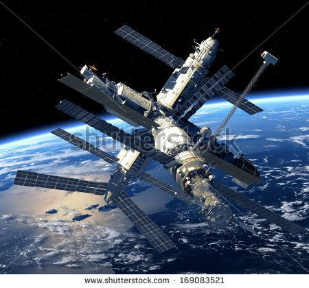 Space-station Stock Photos, Space-station Stock Photography, Space ...