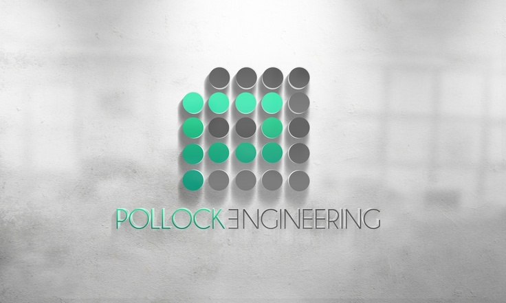 Pollock Engineering Logo Design