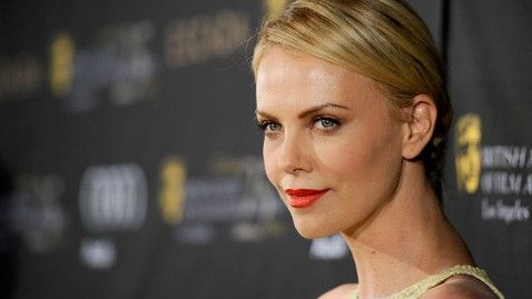 charlize theron // Center: